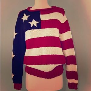 American Flag Tommy Hilfiger sweater
